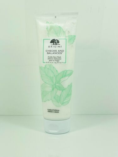 Origins Checks and Balances Frothy Face Wash Jumbo Size  8.5 fl. oz. NEW