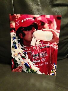 DARIO-FRANCHITTI-SIGNED-AUTOGRAPHED-8X10-PHOTO-INDY-500-TARGET-COA-J