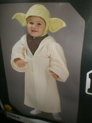 Yoda Girl Costume (Boy or Girls Halloween Costume YODA Star Wars NEW Size 2T-3T or)