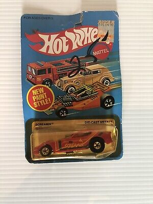 HOT WHEELS SCREAMIN FUNNY CAR 1982
