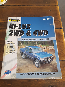 Toyota hilux workshop manual Somerset Waratah Area Preview