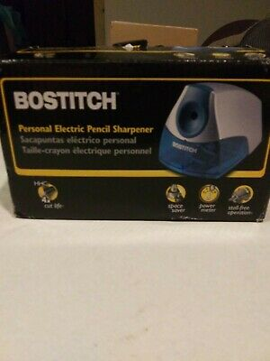 Bostitch Office Personal Electric Pencil Sharpener Blue