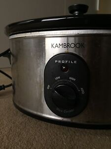 One-year-old  Kambrook Slow Cooker Crows Nest North Sydney Area Preview