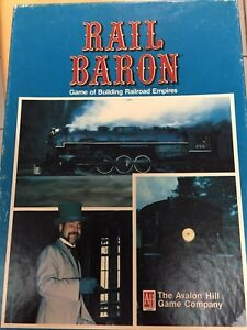Rail Baron board game