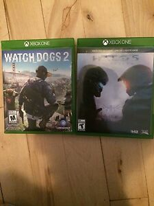 Watch dogs 2 et halo 5