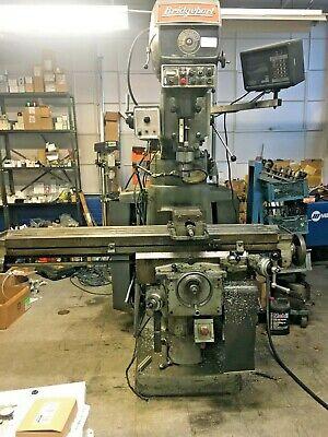 Bridgeport 4 Hp Series Ii Vertical Mill