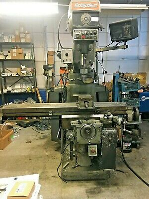 Bridgeport 4 Hp Series Ii Vertical Mill With Tool Holders And Vise