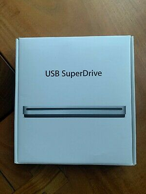 Apple USB SuperDrive DVD Re-Writer - Silver (MD564ZM/A)