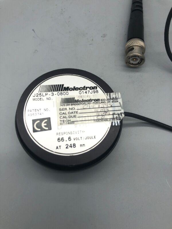 Molectron J25LP Laser Power Detector.    0221-5