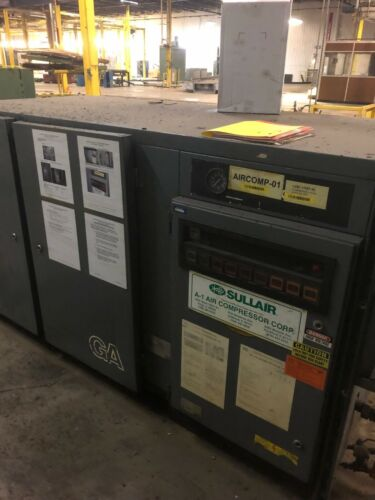 Atlas Copco rotary screw air compressor 30HP