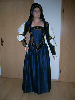 Kostüm  Kleid  Historisch  Tudorepoche  16.Jahrhundert  - Kostüm Arbeit