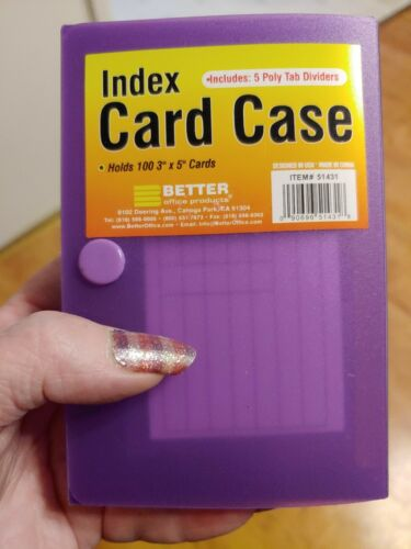Index Card Case