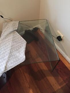 Tempered Glass Square Coffee table Kedron Brisbane North East Preview