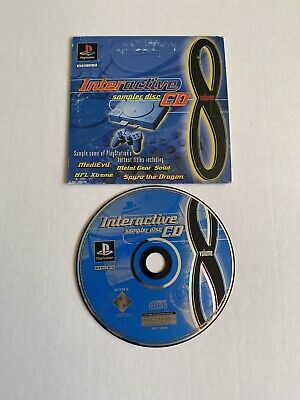 PlayStation Interactive Sampler Disc CD Volume 8 Original Sleeve