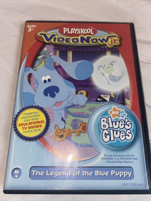 Playskool Video Now JR Personal Video Disc Blues Clues