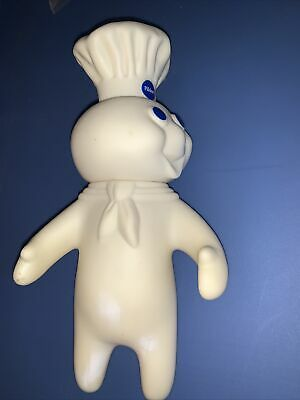 "PILLSBURY DOUGHBOY SWIVEL HEAD POPPIN FRESH 7"" FIGURE VINYL DOLL Vintage 1971"