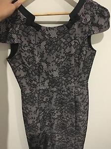 REVIEW Cocktail Dress Black Lace Size 10 Carina Brisbane South East Preview