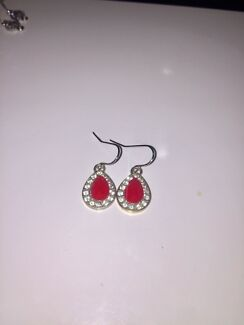 Earrings near new