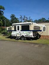 Golf Safari Bush Challenger pop top Camper Erina Gosford Area Preview