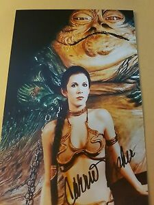 Carrie Fisher Star Wars Autogramm #4905