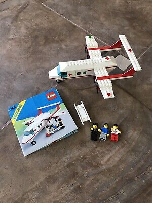 LEGO LEGOLAND Town 6356 Med-Star Rescue Plane COMPLETE With Instructions