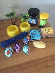 Crazy crab / hermit crab accessories - just add crabs! Silver Sands Mandurah Area Preview
