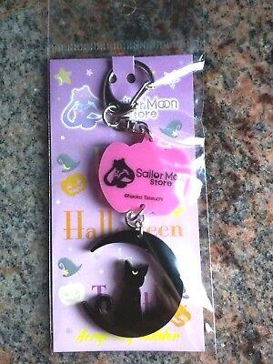 Sailor Moon Luna Keychain limited Halloween edition from Sailor Moon Store - Halloween Sailor Moon