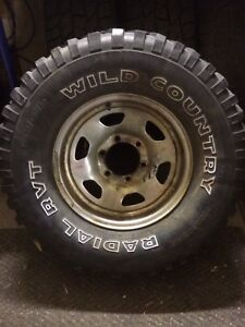 4 Toyota wheels and tires