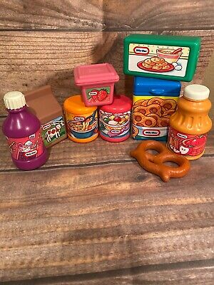 Rare Little Tikes Grocery play food  lot large
