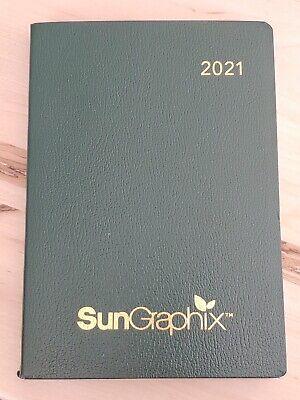 Ubs Vip Exclusive2021 Sun Graphix Desk Planner Diary Journal Datebook Calendar