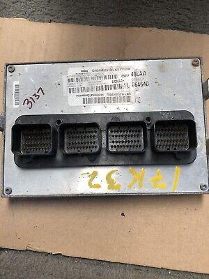 Engine Computer 2012 Dodge Ram 1500 05094408AD 4.7L