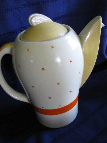 Susie Cooper Kestrel Tea Coffee Pot Crown Works Tyrol