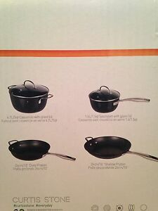 NEW Curtis Stone Everyday Non-Stick pot and pan set