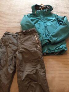 Manteau et pantalon neige Junior taille: Medium