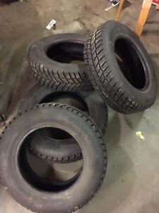 4 Nearly New Hankook Winter Tires