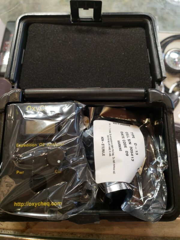 Oxycheq Expedition O2 Analyzer for Scuba diving