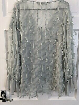 Womens Zara Top New With Tags Size M