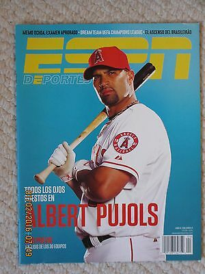 Espn Deportes La Revista Abril 2012   Albert Pujols Issue
