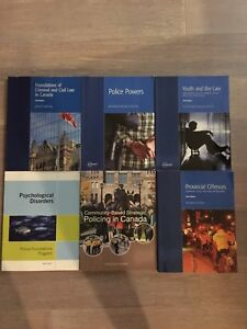 Police foundations textbooks!!