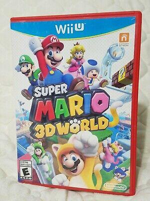 Super Mario 3D World Wii U [Nintendo Wii U] Complete PRISTINE CONDITION