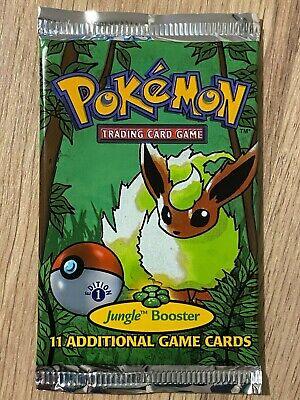 1st Edition Jungle Factory Sealed Pokemon Booster Box Pack Artwork Design 3