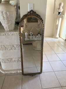 Vintage Gold Frame Wall Mirror