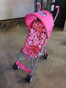 Girl's Umbrella Stroller.