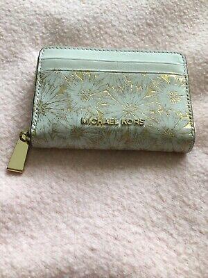 Michael Kors small zip around wallet