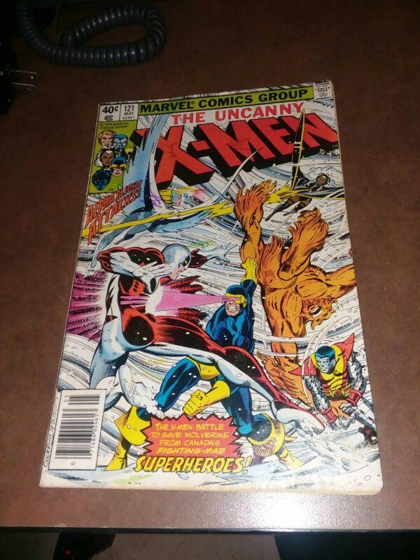 Uncanny X-men #121 marvel comics 1980 bronze age 1st Appearance of Alpha Flight
