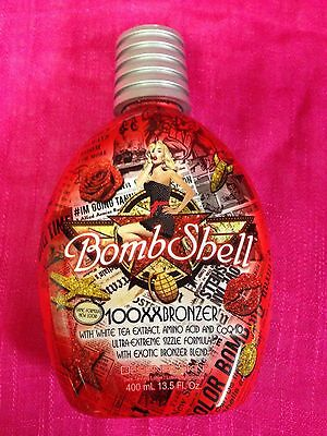DESIGNER SKIN BOMBSHELL 100XX  TINGLE BRONZER TANNING LOTION ~ 100%  AUTHENTIC