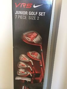 Kids Nike 7 piece Golf Set with Bag, NEW in the box