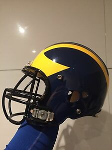 Authentic University of Michigan Riddell Revo Football Helmet