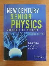Year 11/12 physics textbook: New Century Senior Physics Hawthorne Brisbane South East Preview