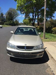 2002 Nissan Pulsar Sedan Armidale Armidale City Preview